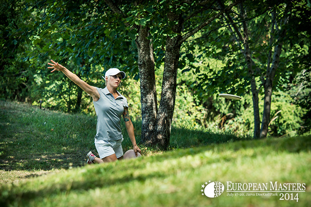Catrina Allen shot an impressive 63 (-1) to take the lead in FPO division